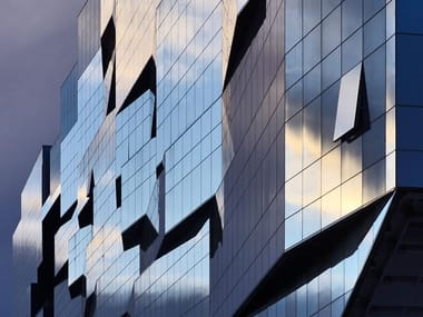 Continuous facade system Curtain walls