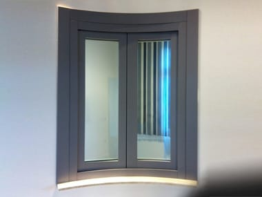 Curved casement window Curved window