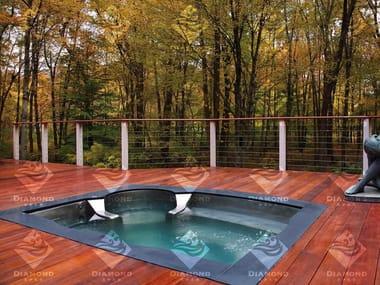 Minipiscina encastrable para exterior Custom Stainless Steel Hot Tub