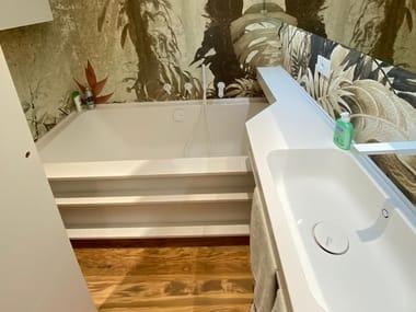 Custom Corian® bathtub Custom bathtub