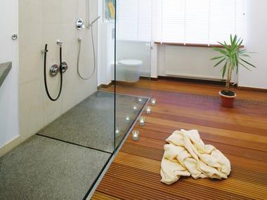Flush fitting shower tray Flush fitting shower tray