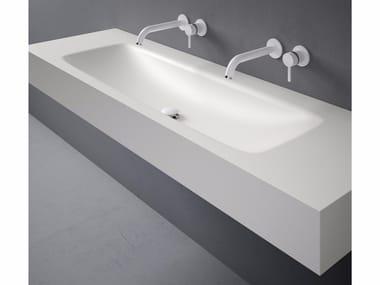Lavabo rectangular de Corian® D5 | Lavabo de Corian®