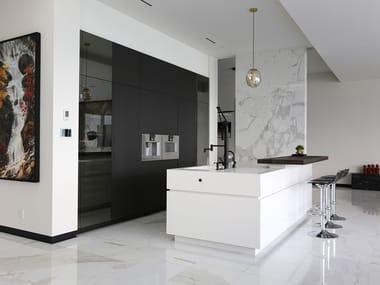 Custom kitchen with island D90 / T45 Evo