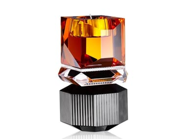 Crystal candle holder DAKOTA
