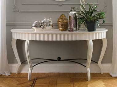 Lacquered oak console table GRAN DUCA | Oak console table
