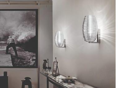 Luminária de parede de vidro DAMASCO AP