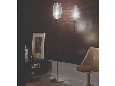 Glass floor lamp DAMASCO PT