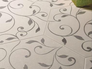 Glazed stoneware wall/floor tiles DAMASCO