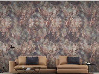Wallpaper with floral pattern DAMASCUS