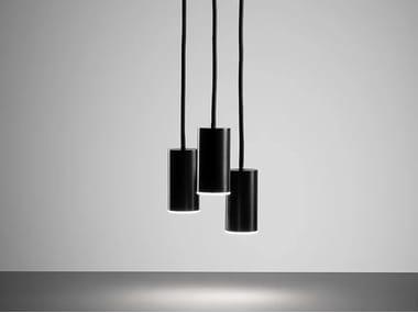 LED aluminium pendant lamp DAMOCLE   Pendant lamp