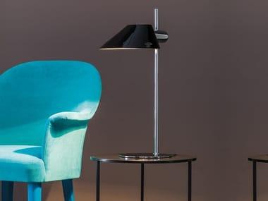 Lámpara de mesa de metal con luz directa DANISH | Lámpara de mesa