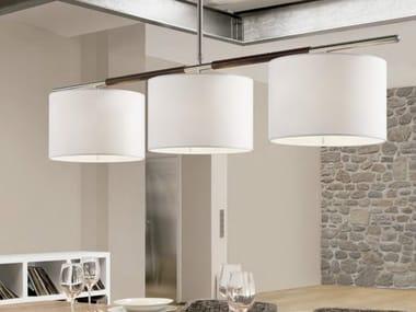 Direct-indirect light pendant lamp DANONA S/3L