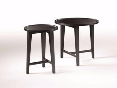 Tavolino rotondo in legno DANY