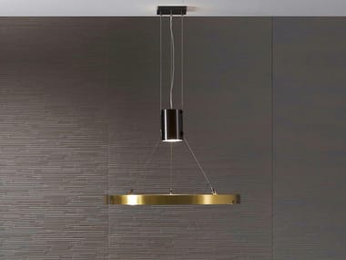 Brass pendant lamp DARK LIGHT MA 10