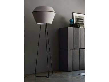 Fabric floor lamp DARLING | Floor lamp