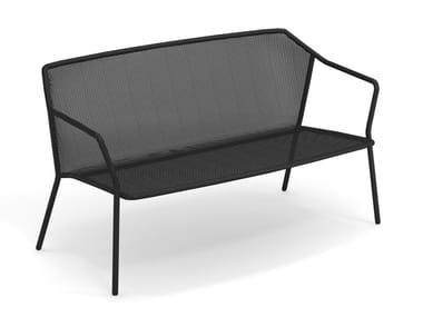 2 seater steel sofa DARWIN | 2 seater sofa