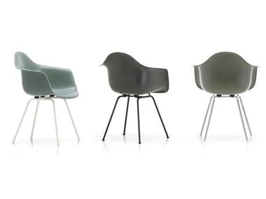 Glass-fibre chair with armrests DAX FIBERGLASS ARMCHAIR
