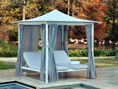 Aluminium and pvc garden gazebos archiproducts