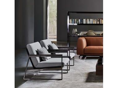 Upholstered armchair DAYTONA