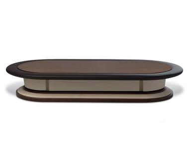 Tavolino basso ovale da salotto BRICK 247 248 By Gervasoni design ...
