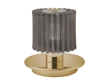 LED table lamp with USB charging DCW - IN THE SUN Gold