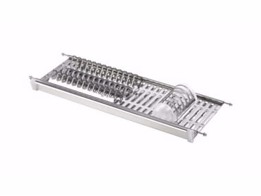 Stainless steel dish drainer DD SINGLE