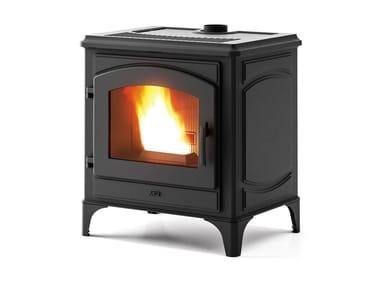 Classic style Pellet cast iron stove DECO