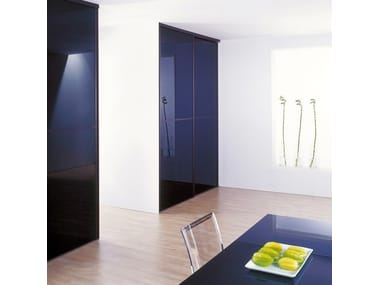 Lacquered glass for interior decoration DECOLAQUE