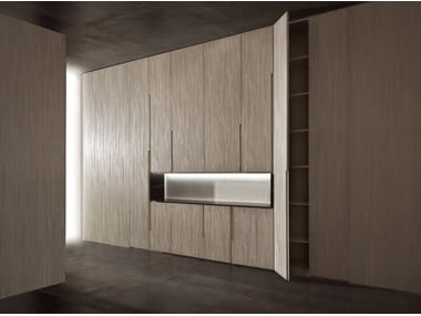Sectional wooden wardrobe DECOR CABINET SYSTEM