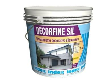 Rivestimento decorativo silossanico DECORFINE SIL 1.6