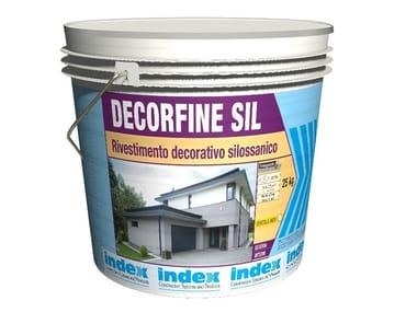 Rivestimento decorativo silossanico DECORFINE SIL1.2