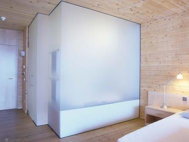 Satin Glass Movable Wall DECORFLOU® BIFLOU