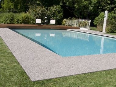 Outdoor continous flooring