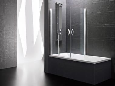 Wing bathtub wall panel DEDALO | Wing bathtub wall panel