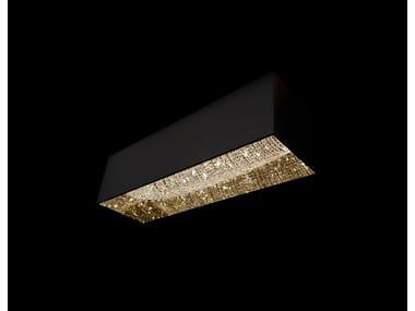 Lampada a sospensione alogena in cristallo DEEP SKY | Lampada a sospensione in cristallo
