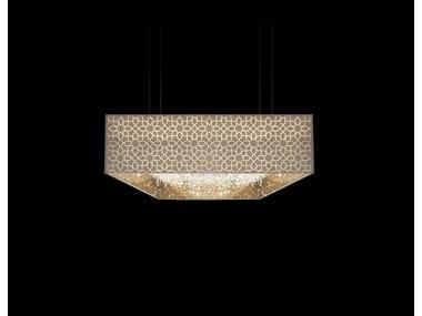 Lampada a sospensione in cristallo DEEP SKY ORIENT | Lampada a sospensione in cristallo