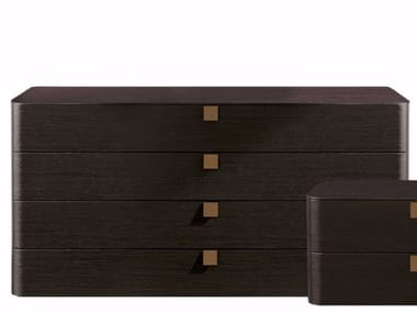 Wooden chest of drawers DEFILÉ | Chest of drawers