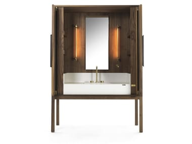 Walnut vanity unit DEKAURI | Walnut vanity unit