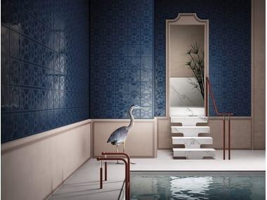 Azulejo tridimensional de gres porcelánico esmaltado DEKORAMI