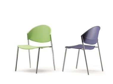 delfi 080 polypropylene chair delfi collection by talin