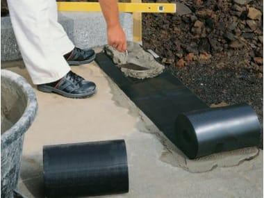 Sheaths for foundation and earth retaining wall DELTA®-DPC TAGLIAMURO