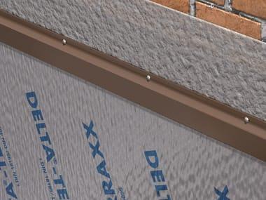 Profile and flashing for waterproofing DELTA®-PROFILO TERRAXX