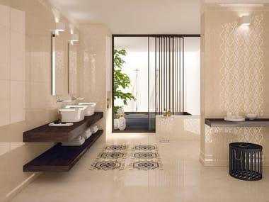 Pavimento/rivestimento effetto marmo DELUXE BEIGE