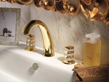 Rubinetto per lavabo a 3 fori da piano DELUXE PRESTIGE | Rubinetto per lavabo a 3 fori