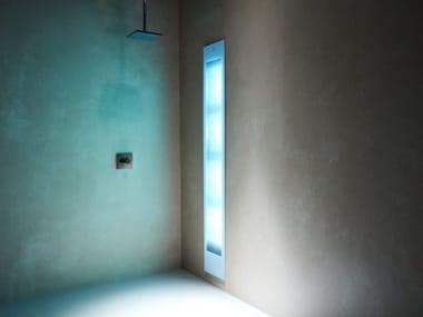 Doccia solare a raggi UV e infrarossi ad incasso DELUXE | White