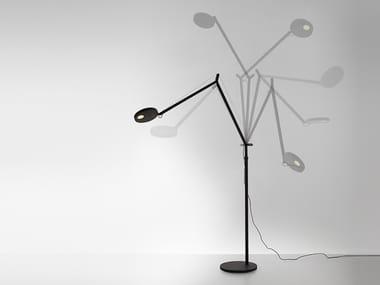 Lampadaire LED de lecture pour éclairage direct DEMETRA   Lampadaire de lecture