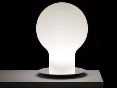 Lámpara de mesa de vidrio soplado DENQ - 229