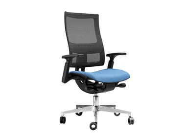 Swivel office chair with 5-Spoke base DENVER | Office chair