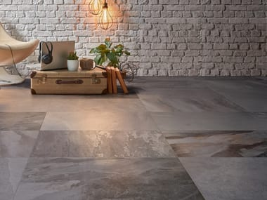 Pavimento in gres porcellanato effetto pietra DENVERSTONE | Pavimento
