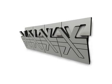Wall-mounted HPL coat rack DERO